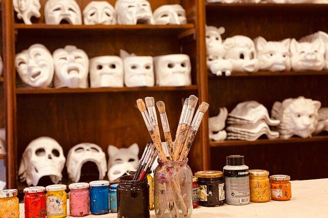 Mask Workshop - Paint your own Venetian mask