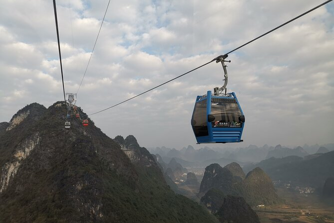 Half-Day Yangshuo Ruyi Peak with the English Speaking Driver from Yangshuo Hotel