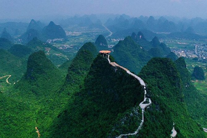Half-Day Yangshuo Ruyi Peak with the English Speaking Driver from Xingping Hotel
