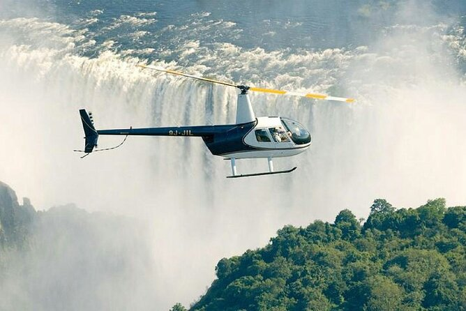 Helicopter Flight around Victoria Falls from Livingstone