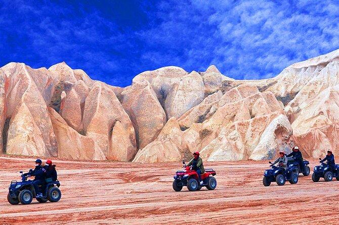 Cappadocia Adventure : ATV Quad Bike Safari & Cappadocia Red Tour