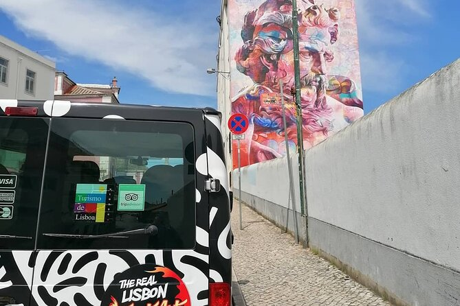 The Real Lisbon Street Art Small-Group Guided Tour by Minivan