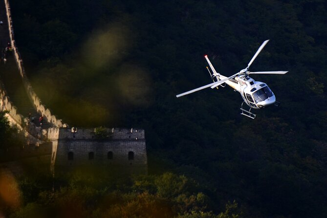 All-Inclusive Mutianyu Great Wall Hiking and Helicopter Overlook Tour