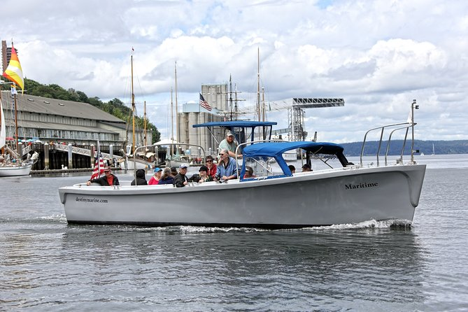 Port of Tacoma and Puget Sound 2 Hour Guided Boat Tour
