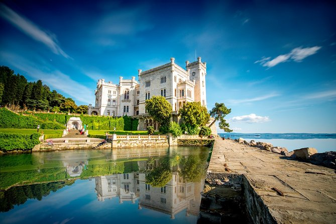 Discover the beauty of Trieste city and fairytale Miramare and Old Duino Castles