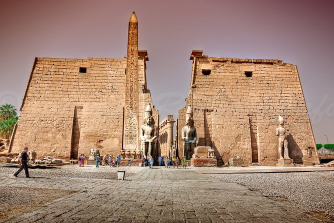 Cairo : Luxor Full Day Private Tour & Overnight SLEEPER Train Rounded trip