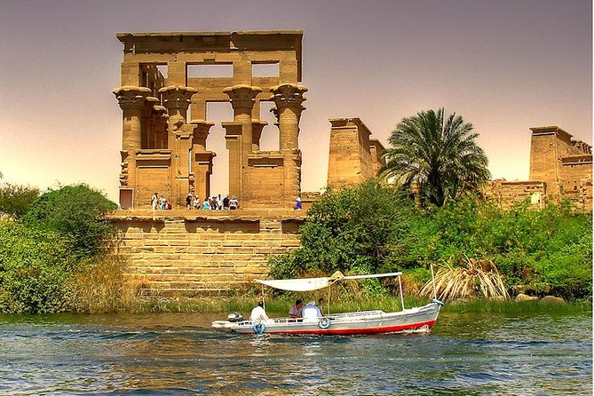 Aswan : Private Tour to Unfinished Obelisk, High Dam and Philae Temple by BOAT
