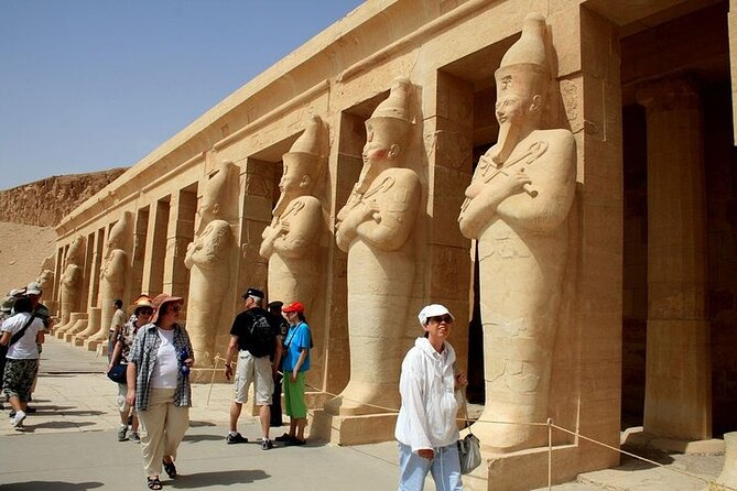 Amazing luxor private guided Day Tour by plane from Sharm El Sheikh.special day