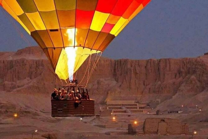 4 days Nile cruise luxor,Aswan,Hot air balloon&Abu simbel with Train from Cairo