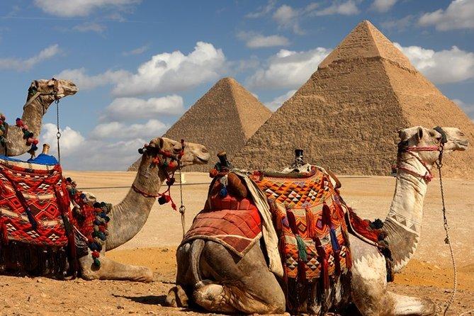 Giza Pyramids, Sphinx, Tour in Giza Egypt