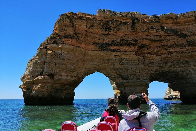 2h30min Private Benagil Caves Tour & Snorkeing with Lots of fun!