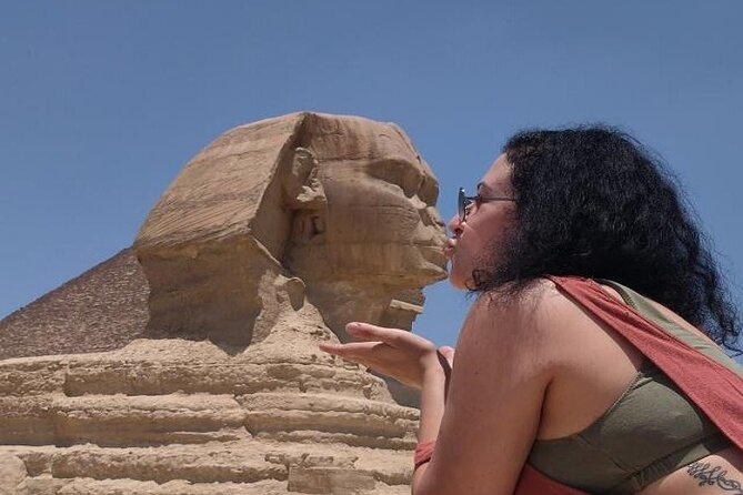 Private Full-Day Cairo Tour and Giza Pyramids From Luxor By Seated Train