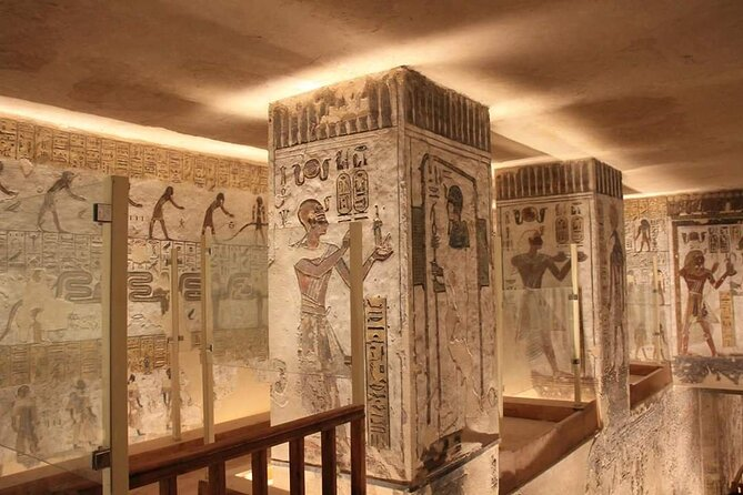 Luxor Private Full-Day Tour : Discover The East and West Banks of The Nile