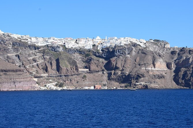 Santorini Volcanic Islands Cruise with Traditional Boat