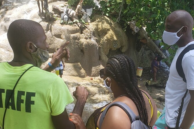 Little Dunns Falls + Fire Water Spring from Ocho Rios/Runaway Bay
