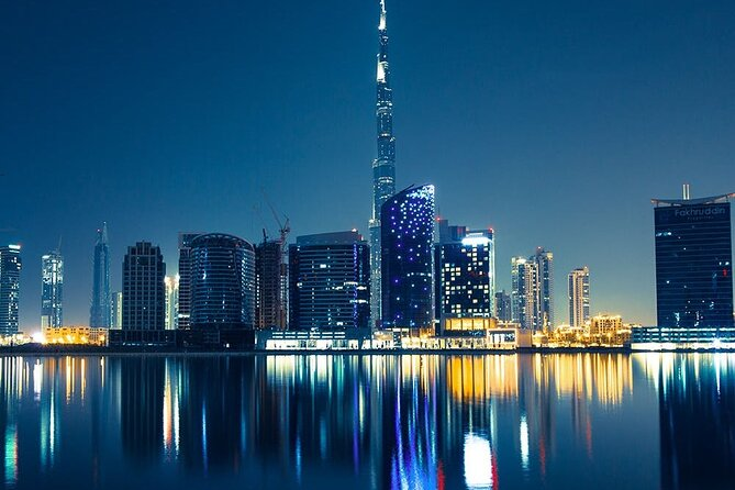 Enjoy Dubai City Tour at Night with Burj Khalifa Ticket