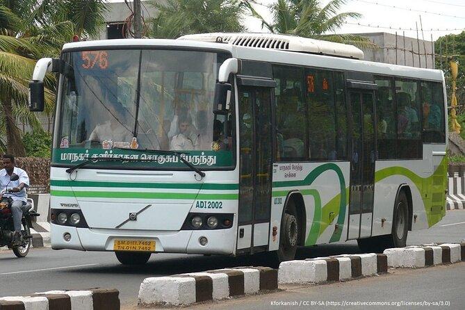 Chennai Transport Trip - Tuk Tuk, Bus, Metro