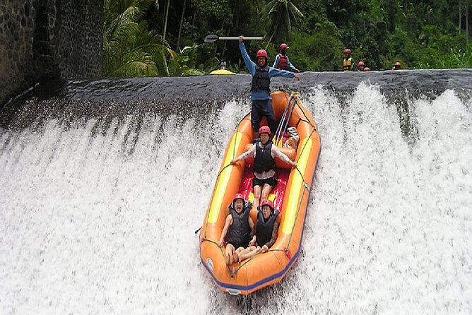 Private River Rafting Experience with ATV Ride in Ubud