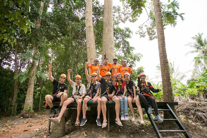 Jungle Xtreme Zipline 16 Platforms Tour From Koh Samui