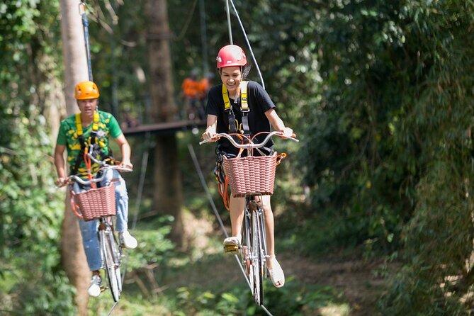 Sky Bike & Swing Adventure Tour From Koh Samui