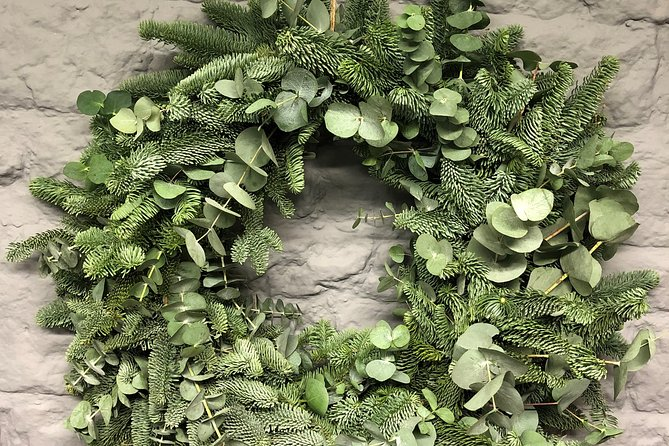 Christmas Wreath Workshop in the Cotswolds