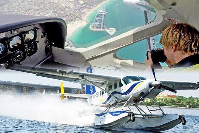 Enjoy Dubai Short Seaplane Flight Experience