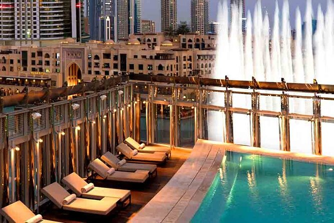 Enjoy Burj Khalifa 124 Floor & Dinning at Rooftop, The Burj Club