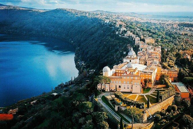 Audio-guided tour of the Villas of Castel Gandolfo & Barberini Gardens & Picnic