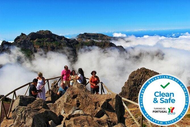 Los picos de Madeira: excursión de día completo 4x4 abierto