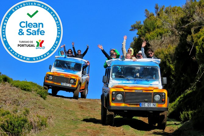 Full-Day Small Group Jeep Safari Tour from Funchal