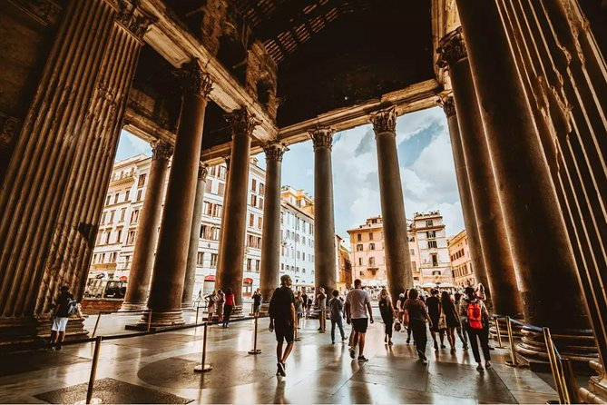 Private Full Day Walking Tour of Rome (without Vatican) in 20 stops incl pick up