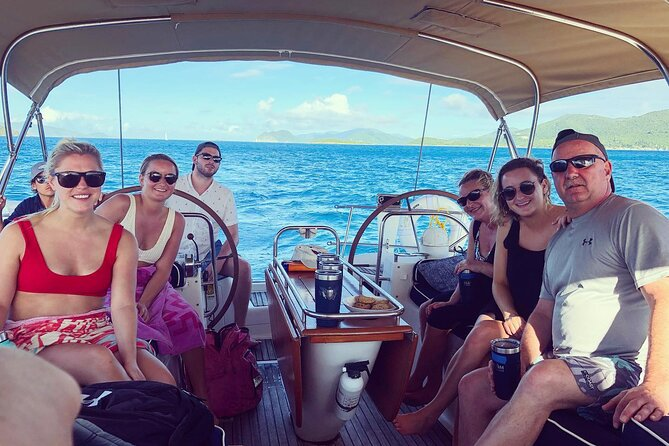 Full Day Sail and Snorkel St. John Excursion