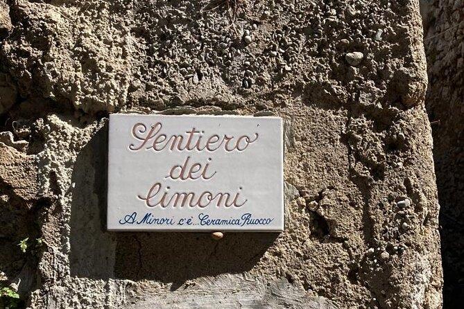 Walking tour from Maiori to Minori along the Lemon Trail