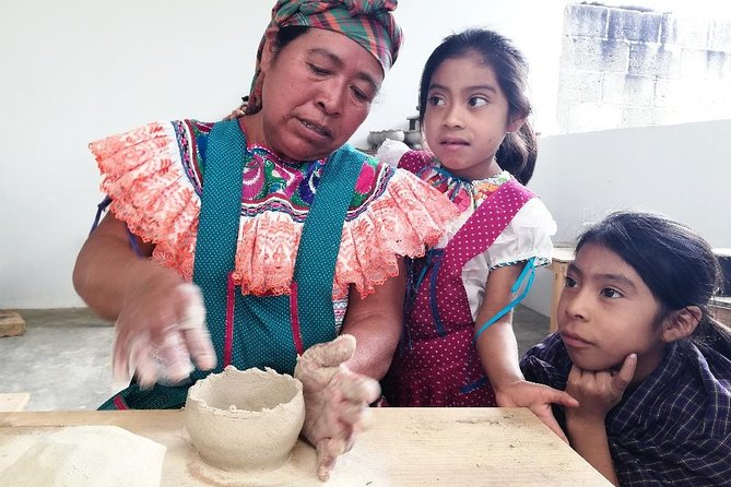 Pottery workshop with traditional potters