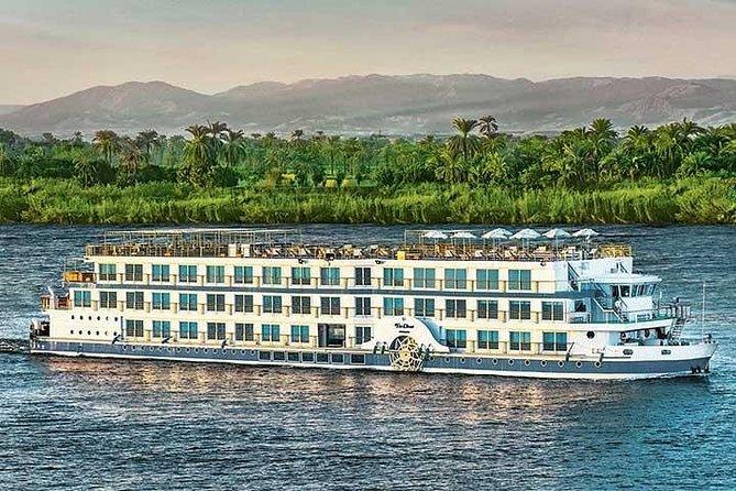 Cairo : 6 Days Nile Cruise Tour Aswan to Luxor & Sleeper train Round Trip