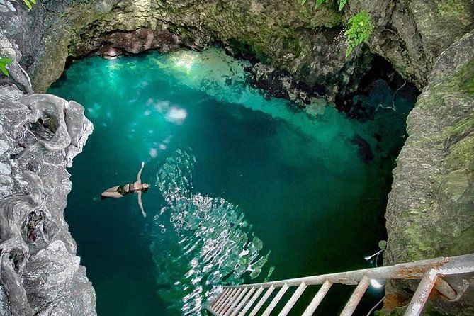 Private Blue Hole Mineral Spring Tour From Montego Bay