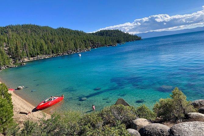 Social distance on Lake Tahoe in a Luxury Power Boat