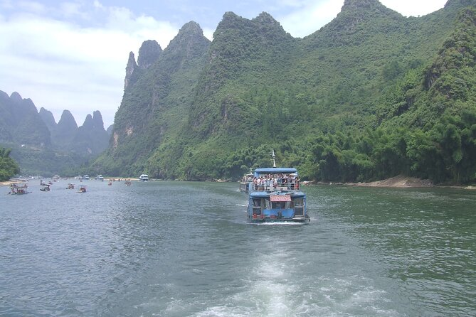 Li River boat ticket (cruise from Guilin to Yangshuo)