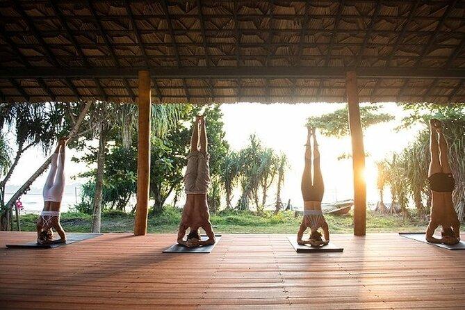 yoga class Sri Lanka - Aerial yoga (Ayurveda wellness package)