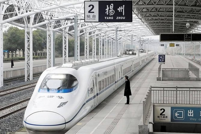Shanghai to Yangzhou Bullet Train Ticket with Train Station Transfer