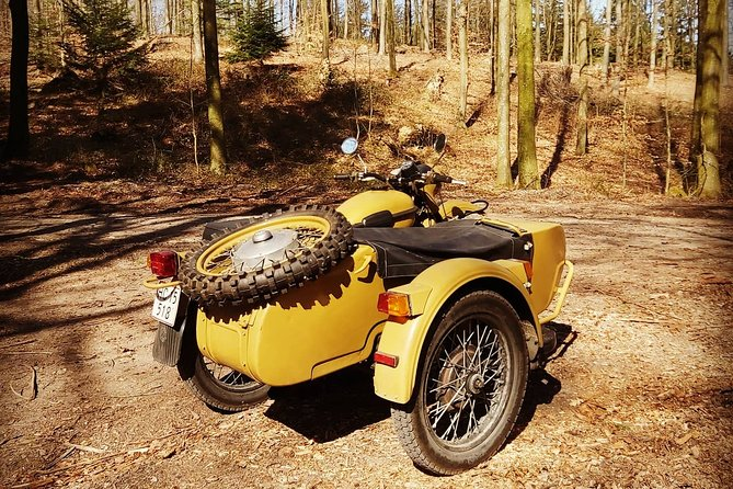 Private Sidecar Tour in Faaborg's Countryside, lakes and forests.