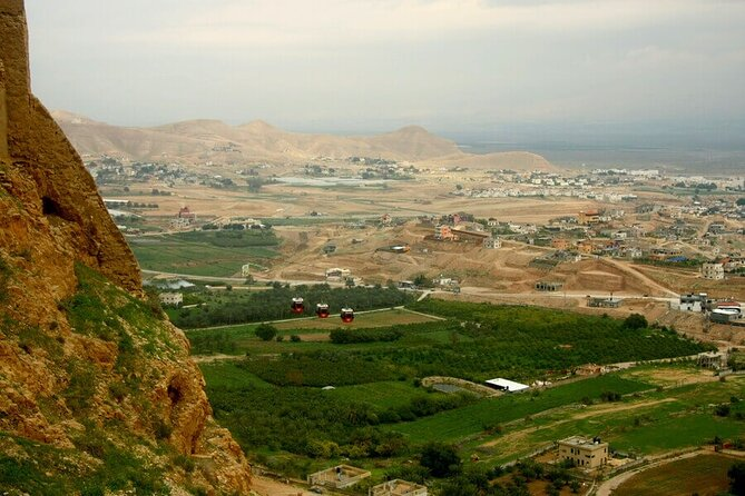 Jericho, the Jordan river & the Dead Sea from Jerusalem