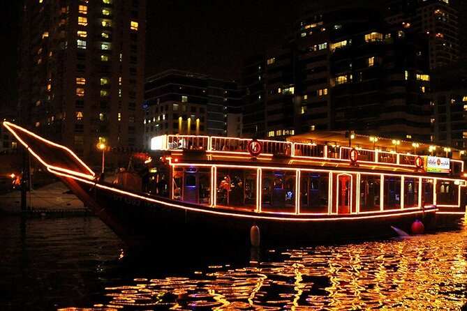 Dhow Cruise With Buffet Dinner