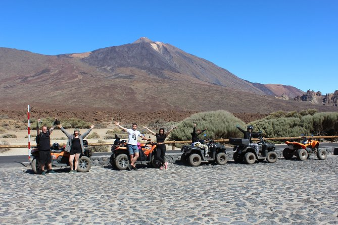 Quad Tour to the Teide National Park (4H)