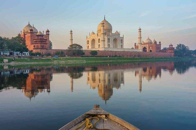 Private Taj Mahal & Agra Car Tour from Delhi