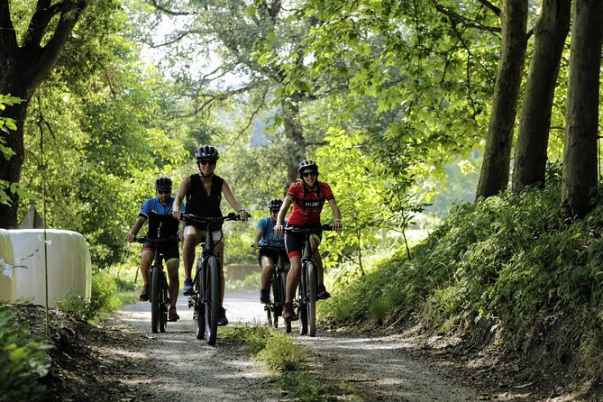 E-Bike tour of rural Catalonia with brunch and sausage tasting