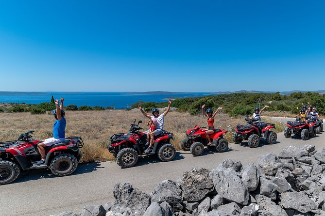 Quad Adventure Tour on Island from Split and Trogir