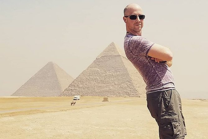 Mega Day Tour To Giza Pyramids,Great Sphinx, Saqqara, Dahshur & Memphis
