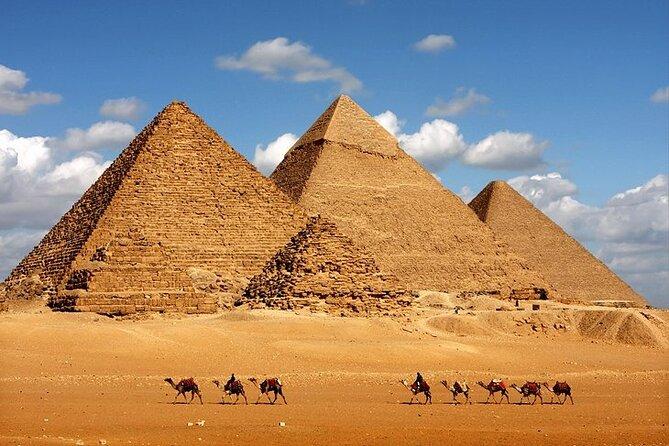 Giza Pyramids, Sphinx, Saqqara and Memphis Private Day Tour