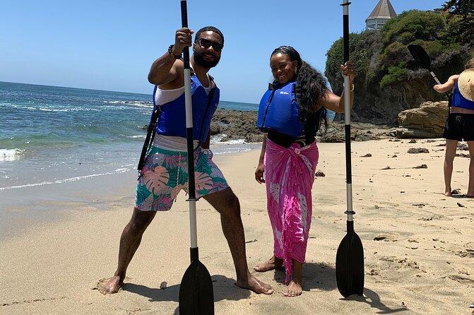 Laguna Beach Open Ocean Kayaking Tour with Sea Lion Sightings